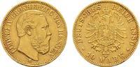 Hessen 10 Mark Ludwig IV., 1877-1892.