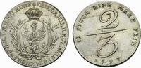 Brandenburg-Preußen 2/3 Taler Friedrich Wilhelm II. 1786-1797