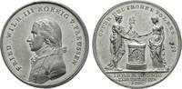 Brandenburg-Preußen Zinnmedaille Friedrich Wilhelm III. 1797-1840