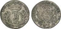 Sachsen-Saalfeld 1/12 Taler Johann Ernst VIII. 1680-1729