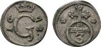 Sayn-Wittgenstein-Hohenstein 3 Pfennig Gustav 1657-1701