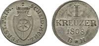 Frankfurt, Fürstprimatische Staaten Kreuzer Carl Theodor von Dalberg 1806-1815