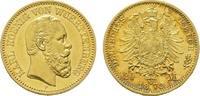 Württemberg 20 Mark Karl 1864-1891