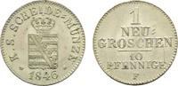 Sachsen-Albertinische Linie Neugroschen Friedrich August II. 1836-1854