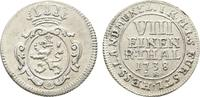 Hessen-Kassel 1/8 Taler Friedrich I. 1730-1751