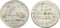 Braunschweig-Calenberg-Hannover 1/12 Taler Georg II. 1727-1760
