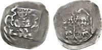 Brandenburg-Franken Pfennig auf Würzburger Schlag Friedrich V. 1361-1397