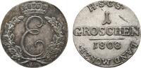Sachsen-Coburg-Saalfeld Groschen Ernst 1806-1826