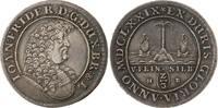 Braunschweig-Calenberg-Hannover Palmbaumgulden Johann Friedrich 1665-1679.