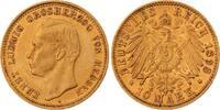 Hessen 10 Mark Gold Ernst Ludwig 1892-1918.