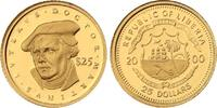 Liberia 25 Dollars Gold Republik seit 1847.