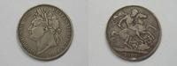 Grossbritannien 1 Crown 1 Crown Georgius IIII. 1822 Tertio